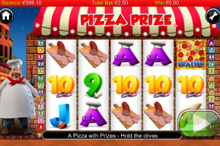 Pizza Prize Mobile Slot Screenshot