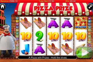 Pizza Prize Mobile Slot Screenshot