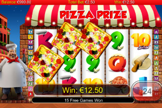 Pizza Prize Mobile Slot Win