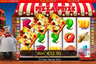 Pizza Prize Mobile Slot Win
