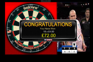 Sky Sports Mobile Slot Darts Bonus
