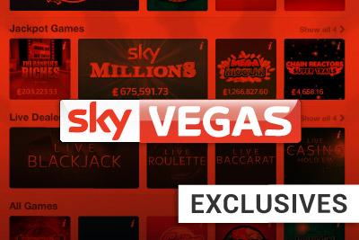 3 New Exclusive Slots at Sky Vegas Casino: Atlantis Treasure, Wizard of Odds and Sky Sports Slot