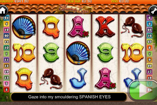Spanish Eyes Mobile Slot Screenshot