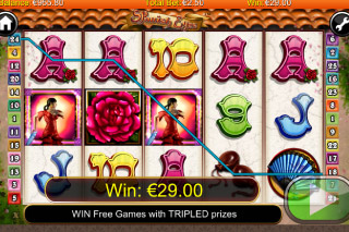 Spanish Eyes Mobile Slot Win