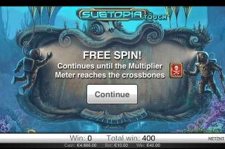Subtopia Mobile Slot Free Spins Win