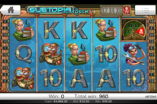 Subtopia Mobile Slot Free Spins Screenshot