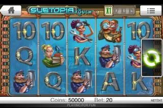 Subtopia Mobile Slot Screenshot