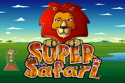 Super Safari Mobile Slot Logo