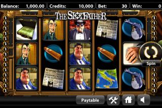 The Slotfather Mobile Slot Screenshot