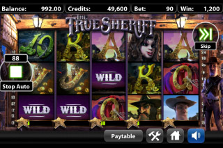 The True Sheriff Mobile Slot Bonus