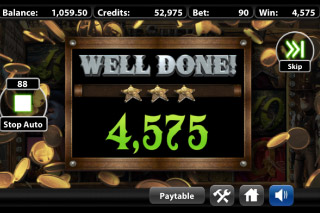 The True Sheriff Mobile Slot Bonus Win