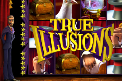 True Illusions Mobile Slot Logo