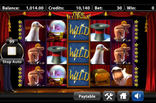 True Illusions Mobile Slot Wilds