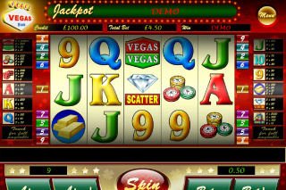Vegas Vegas Mobile Slot Screenshot
