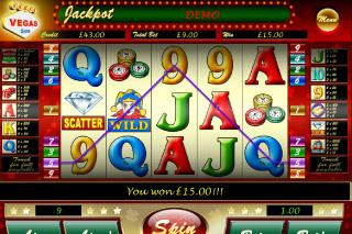 Vegas Vegas Mobile Slot Win