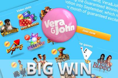 One Lucky Student Hits €152,94 Slot Jackpot at Vera&John Online Casino