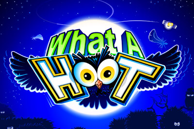 What A Hoot Mobile Slot Logo