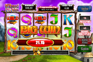 Wizard of Odds Mobile Slot Big Win