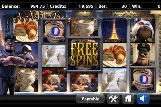 A Night In Paris Free Spins