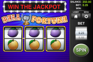 Bell of Fortune Classic Mobile Slot Screenshot