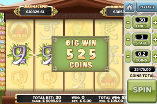 Benny the Panda Mobile Slot Big Win