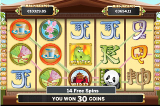 Benny the Panda Mobile Slot Free Spins