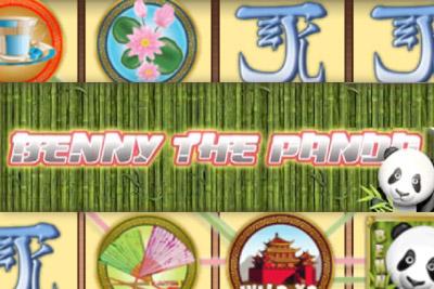Benny the Panda Mobile Slot Logo