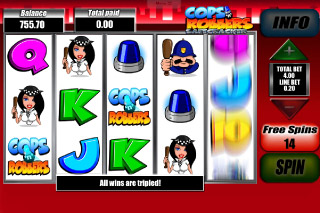 Cops N Robbers Mobile Slot Free Spins