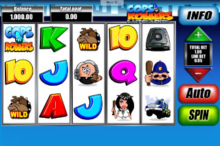Cops N Robbers Mobile Slot Screenshot