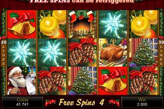 Deck the Halls Mobile Slot Free Spins