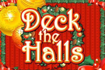 Deck the Halls Mobile Slot Logo