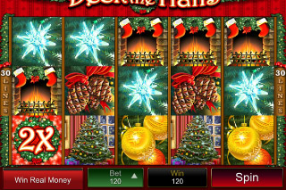 Deck the Halls Mobile Slot Screenshot