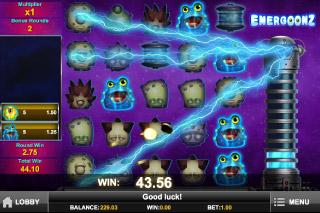 Energoonz Mobile Slot Free Games
