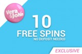 10 Free Spins & More at Vera&John Casino