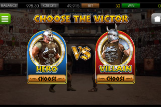 Gladiator Mobile Slot Battle Bonus