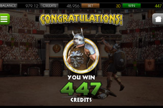 Gladiator Mobile Slot Big Win