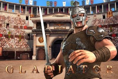 Gladiator Mobile Slot Logo