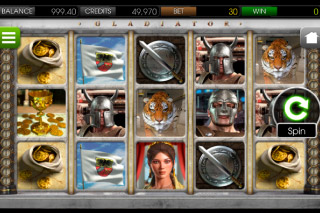 Gladiator Mobile Slot Screenshot