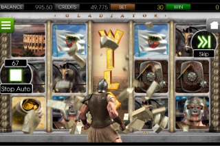 Gladiator Mobile Slot Smash Reels
