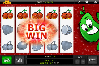 Hot Fruits Mobile Slot Big Win