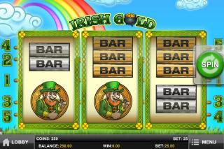 Irish Gold Mobile Slot Screenshot