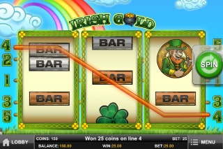 Irish Gold Mobile Slot Win