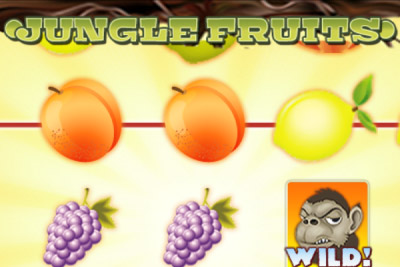 Jungle Fruits Mobile Slot Logo