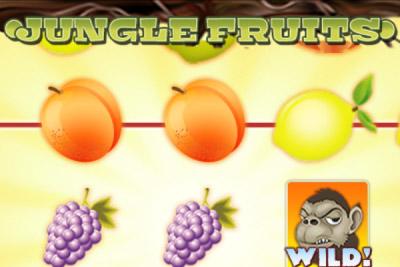 Jungle Fruits Mobile Slot Logo