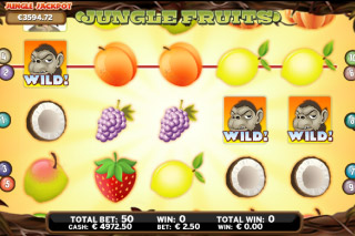 Jungle Fruits Mobile Slot Wilds