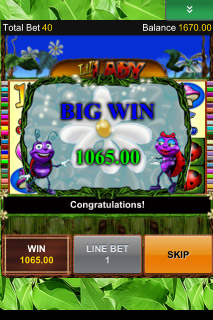 Lil' Lady Mobile Slot Big Win