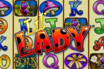 Lil' Lady Mobile Slot Logo