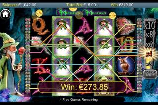 Merlins Millions Mobile Slot Big Win