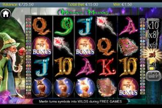 Merlins Millions Mobile Slot Bonus