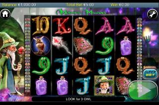 Merlins Millions Mobile Slot Screenshot